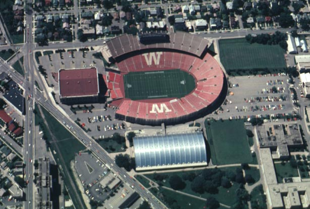 Camp Randall Stadium From Above