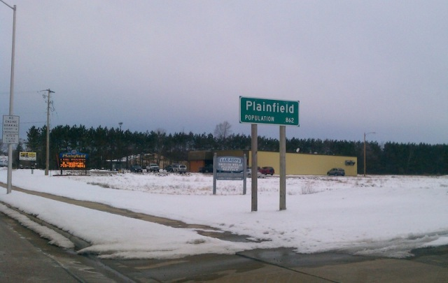 Plainfield Sign