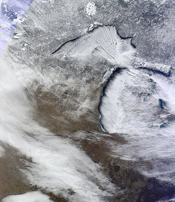 WI From Space SNOW 2013