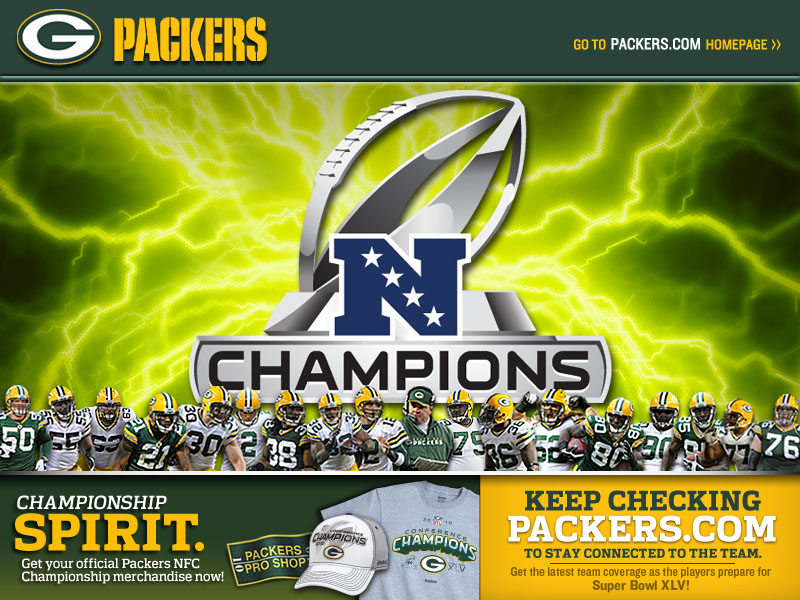 Green Bay Packers – 2010 Season NFC Champions