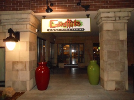 Graffito Entrance