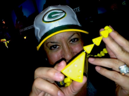 Cheesehead Necklace