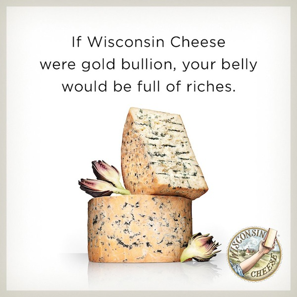 Gold Bullion Cheese