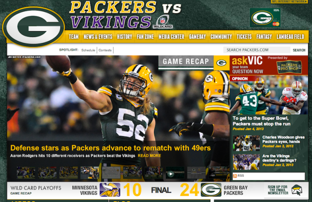 PACKERS Home 010513