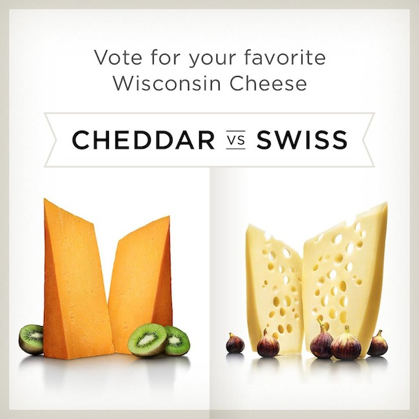 Vote For Favorite WI Cheese