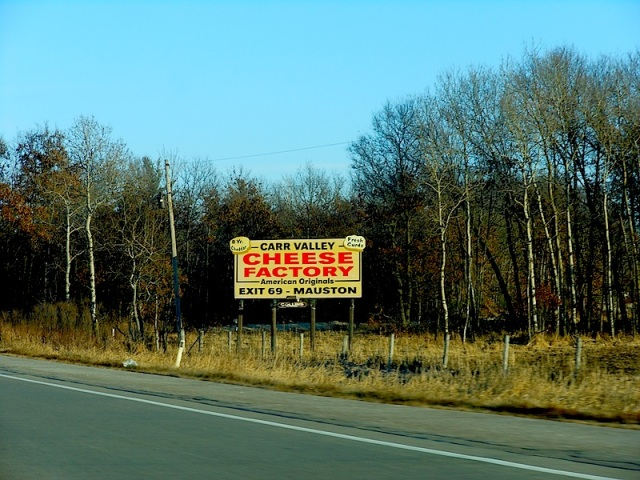 Carr Valley Cheese SIGN