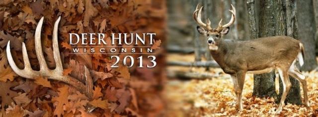 Deer Hunt WI Banner