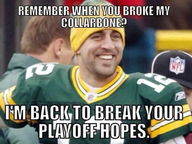 Bears Taunt RODGERS