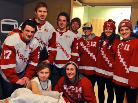 Badger Hockey UW Health Kids
