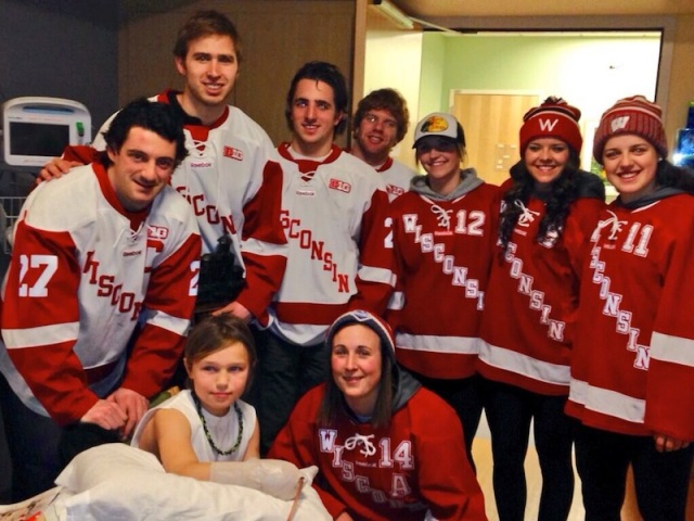 Badger Hockey UW Health Kids