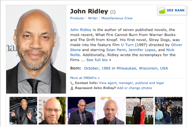 John Ridley IMDB