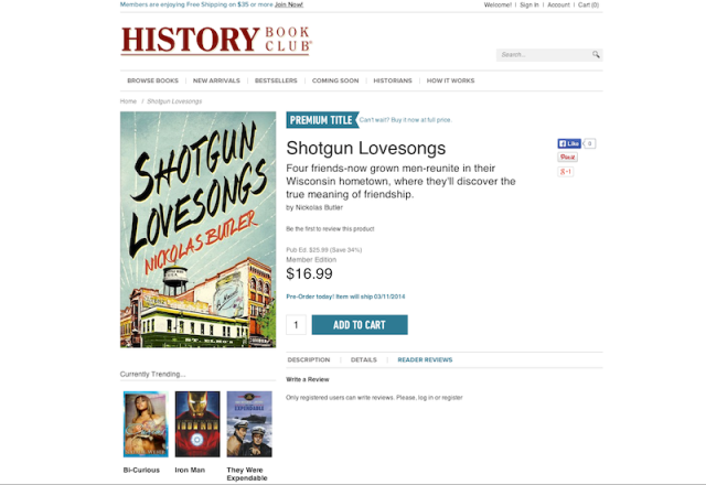 SHOTGUN History Book Club