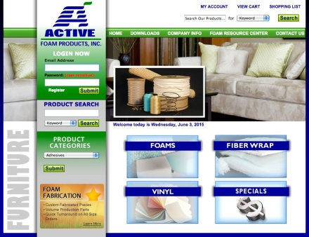 Active Foam Products