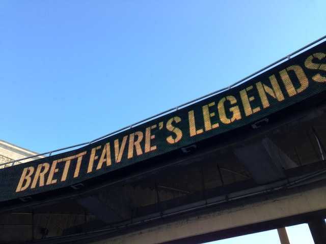Brett Favre's Legends