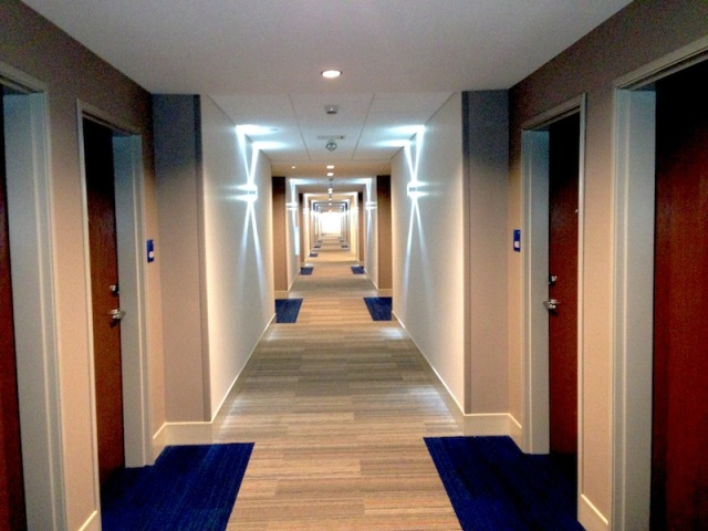 Forth Floor Hallway