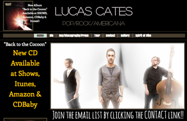 Lucas Cates Website
