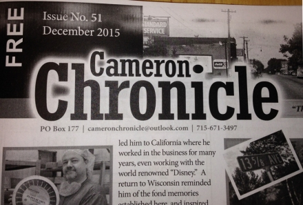Cameron Chronicle CU