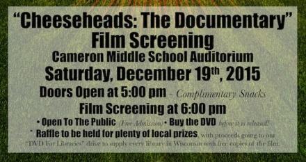 Cameron Event Info