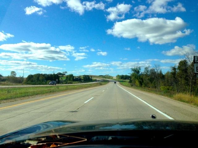 Stunning Split Road