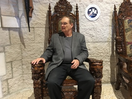 Chester On Throne
